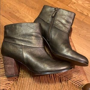 Cole Haan Metallic Ankle Boots Nike Air Sole